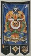 Estandarte Guardianes de la Franja Este (5ª Compañía Ultramarines) Wikihammer