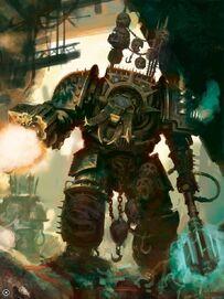 Exterminador Caos Legión Alfa Maza de Energía