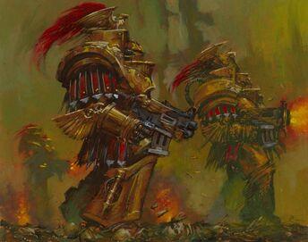 Escuadra exterminadora argonus guardia custodia