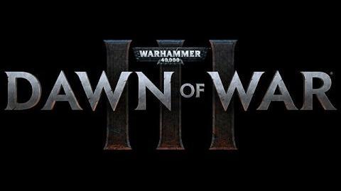 Dawn of War III –Trailer español