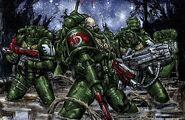 Escuadra Táctica Rifle de Plasma Ángeles Oscuros