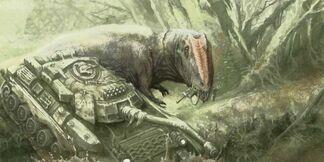 Planeta cretacia Gigantosoaurus vs Tank.jpg