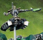 Miniatura Lider Destructor Necron Apoyo Pesado Wikihammer