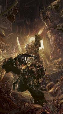 Guardianes de la Muerte Arca de las Almas Perdidas Mortis Thule Pecio Espacial Tiranidos Ordo Xenos Wikihammer