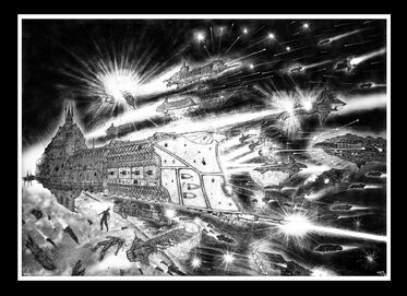 Batalla Flota Imperial Fuerzas del Caos Wikihammer