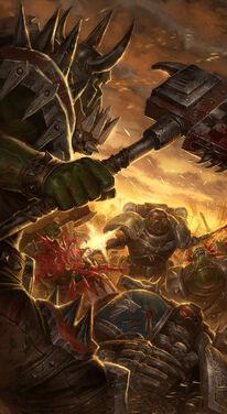 Guardianes de la Muerte Batalla Desesperada Orkos Ordo Xenos Wikihammer
