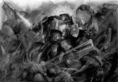 Caballero gris vs tiranidos