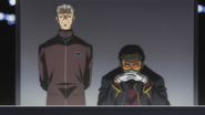 Gendo and Fuyutsuki (Rebuild)