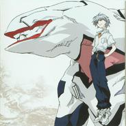 Kaworu & Mass Production Evangelion Artwork