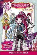 Book Cover - Dragon Games Junior Novel