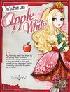 Which Ever After High Student Is Most Like You - Apple White