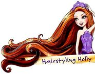 Profile art - Hairstyling Holly