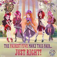 Facebook - Fairest Five