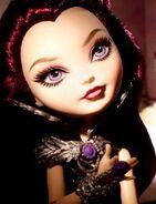 Diorama - Raven stares up