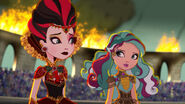 Dragon Games - Lizzie and Maddie worried