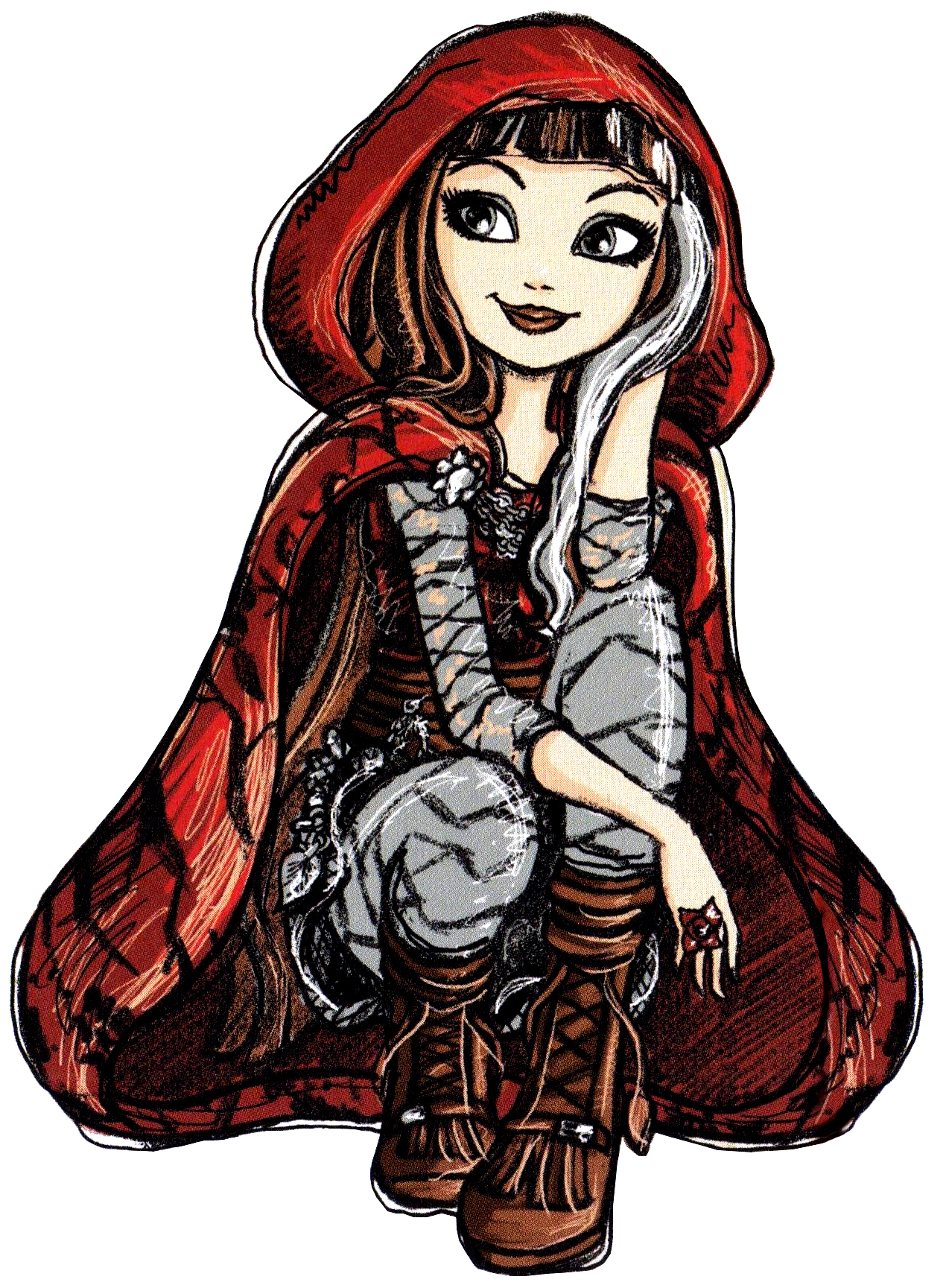 Cozy Comforts and Dolls: Hat-Tastic Cerise Hood-Ever After ...   Cerise Hood
