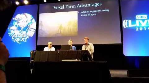 SOELive 2014 The Tech Evolution of EverQuest Next & Landmark Panel 1 3