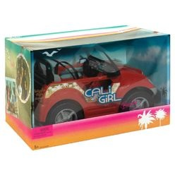 Cali girl beach convertible everything barbie wiki for Motorized barbie convertible car