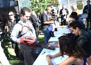 New York Comic Con 2015 - Ash vs Evil Dead event 021