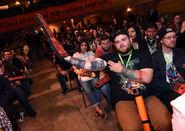 New York Comic Con 2015 - Ash vs Evil Dead event 007