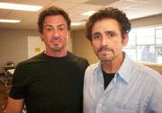 David Joseph Martinez with Sly