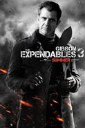 The Expendables 3 first wave of fanmade posters featuring crazy Mel Gibson