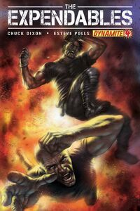 The Expendables Issue 4 cover