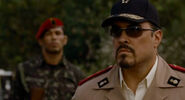 Expendables guard on left of Garza
