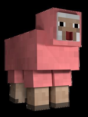 Pink sheep explodingtnt - photo#21