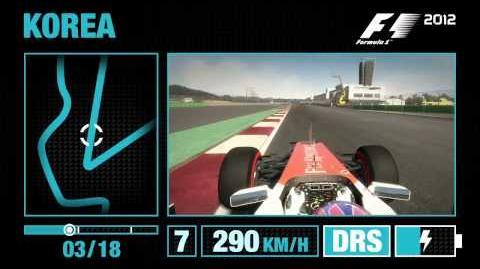 F1 2012 - Korea Hotlap