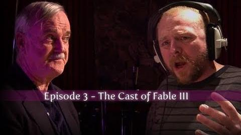 Fable III The Cast - Video Diary 3