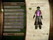 Male lower calss outfit