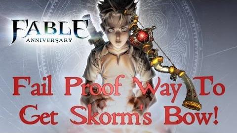 Fable Anniversary - How To Get Skorm's Bow On First Try