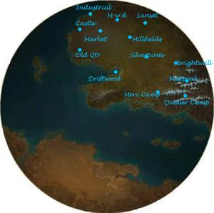 Eno Sanctuary Map