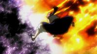 Natsu's Dazzling Flame of Dragon God