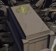 Will Neville's coffin