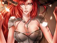 Erza Scarlet by Kristallin-F