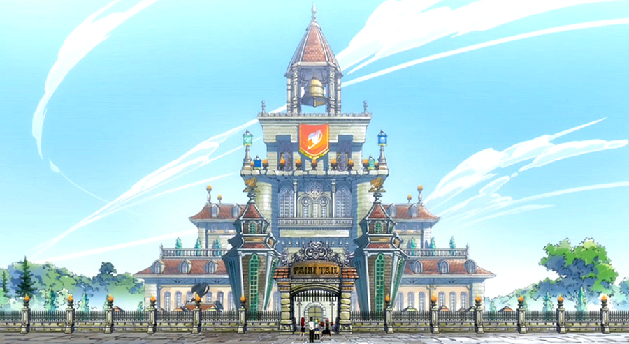 Pierwszy budynek fairy tail fairy tail wiki fandom powered by wikia - Embleme de fairy tail ...