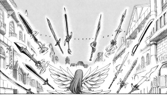 File:Erza summons her blades.jpg