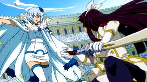 Kagura fights Yukino