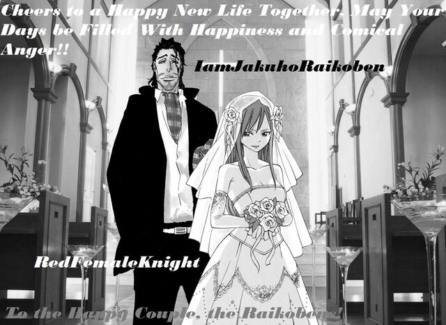 Jakuho's and Red's Wedding
