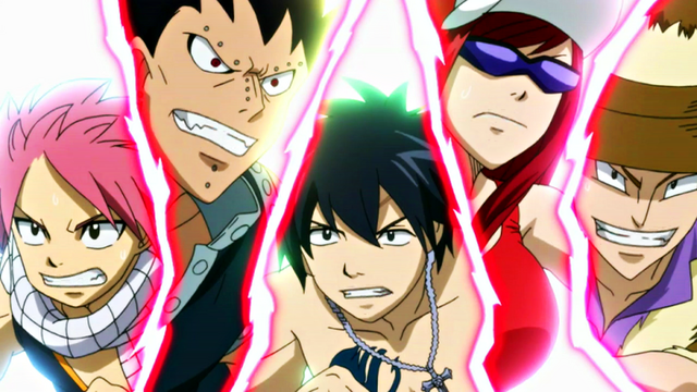 File:Jet, Erza, Gray, Gajeel and Natsu racing.png