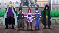Team Fairy Tail not moving
