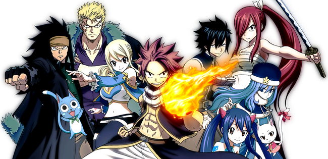 Fairy Tail Anime 2014