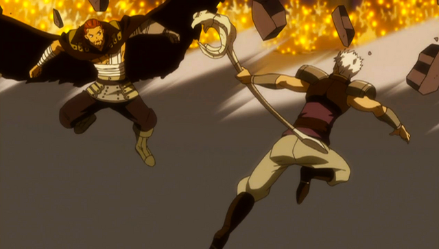 File:Gildarts and Byro go melee.png