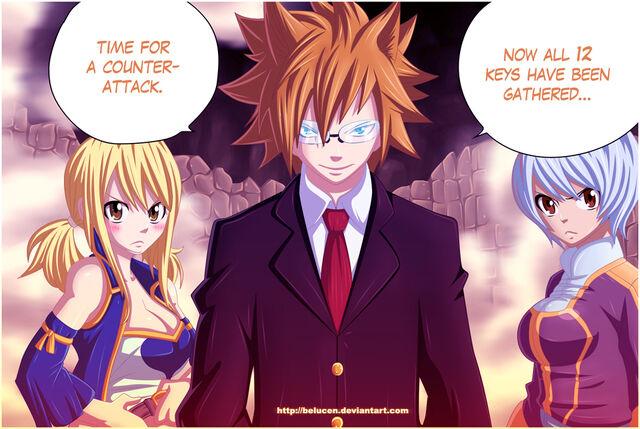 File:Fairy Tail 309 Twelve Zodiac Keys by belucEn.jpg