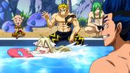 Mavis having fun at Ryuzetsu Land