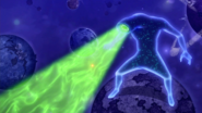 Eclipse King attacks Natsu