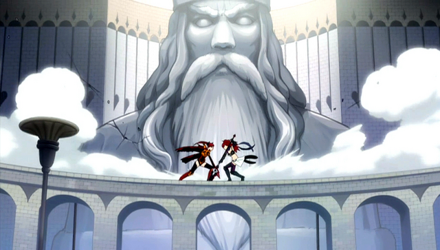 File:Erza Knightwalker and Erza Scarlet fighting on a bridge.png