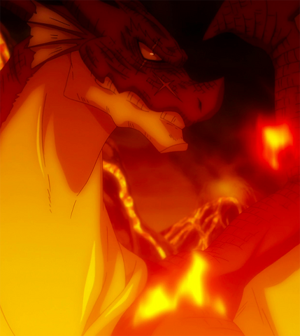 File:Igneel prepares to take action.png
